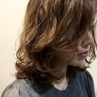 こなれ感 大人かわいい 大人女子 パーマ ヘアスタイルや髪型の写真・画像