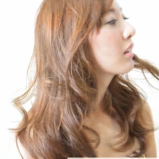 ヘアアレンジ ナチュラル ガーリー フェミニン ヘアスタイルや髪型の写真・画像