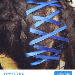 上品 ウェーブ 成人式 ミディアム ヘアスタイルや髪型の写真・画像