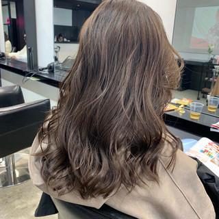 抜け感 セミロング アンニュイほつれヘア 大人かわいい ヘアスタイルや髪型の写真・画像