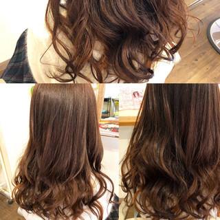 アッシュ ベリー ピンク グラデーションカラー ヘアスタイルや髪型の写真・画像
