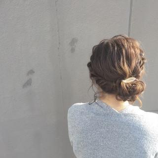 大人女子 ボブ ヘアアレンジ こなれ感 ヘアスタイルや髪型の写真・画像