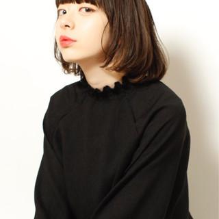 ニュアンス 暗髪 色気 黒髪 ヘアスタイルや髪型の写真・画像