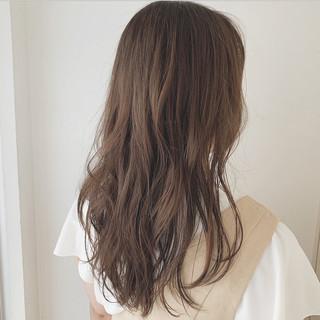 モテ髮シルエット 大人カジュアル アディクシーカラー 透明感カラー ヘアスタイルや髪型の写真・画像