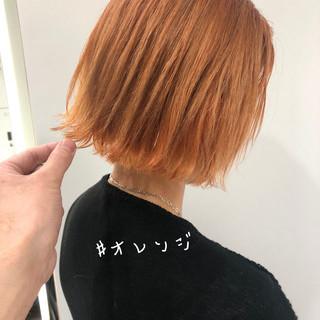 ショートヘア ボブ ベリーショート 切りっぱなしボブ ヘアスタイルや髪型の写真・画像
