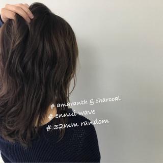 ロブ ゆるふわ デート アンニュイ ヘアスタイルや髪型の写真・画像
