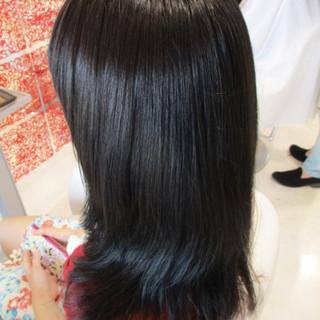 ゆるふわ 大人かわいい セミロング ピンク ヘアスタイルや髪型の写真・画像