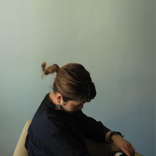デート ヘアアレンジ 秋 モード ヘアスタイルや髪型の写真・画像