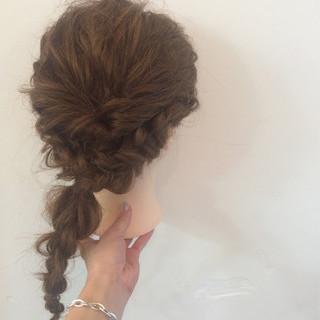 ショート 謝恩会 結婚式 大人かわいい ヘアスタイルや髪型の写真・画像