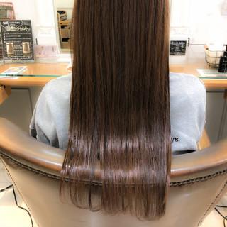 ロング 大人ロング ナチュラル 髪質改善トリートメント ヘアスタイルや髪型の写真・画像
