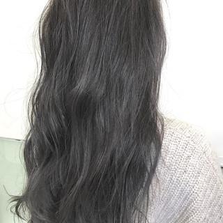 ゆるふわ ハイライト アンニュイほつれヘア ロング ヘアスタイルや髪型の写真・画像