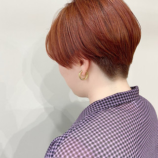 大人ショート ショート モード ベリーショート ヘアスタイルや髪型の写真・画像