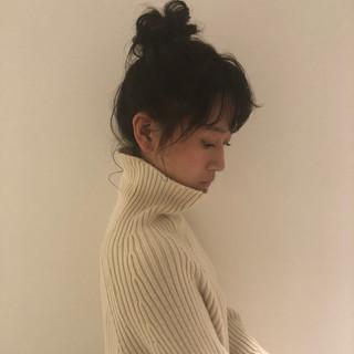 パーマ オフィス デート フェミニン ヘアスタイルや髪型の写真・画像