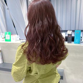 ハイトーンカラー 透明感 ハイトーン ナチュラル ヘアスタイルや髪型の写真・画像