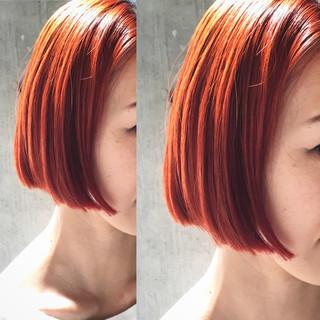 大人かわいい モード 暗髪 ハイライト ヘアスタイルや髪型の写真・画像