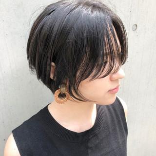 簡単ヘアアレンジ デート 黒髪 パーマ ヘアスタイルや髪型の写真・画像