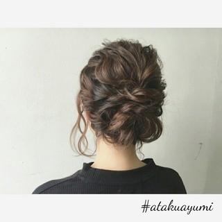 上品 エレガント デート ミディアム ヘアスタイルや髪型の写真・画像