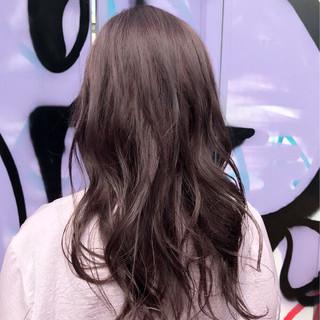ウェーブ ガーリー アンニュイ ロング ヘアスタイルや髪型の写真・画像