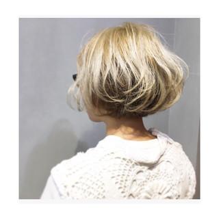透明感 ナチュラル パープル オリーブアッシュ ヘアスタイルや髪型の写真・画像