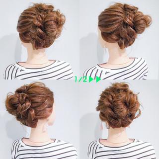 ロング アウトドア デート 簡単ヘアアレンジ ヘアスタイルや髪型の写真・画像