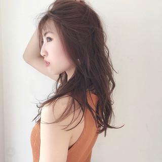 モテ髮シルエット 大人女子 ナチュラル 大人可愛い ヘアスタイルや髪型の写真・画像