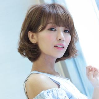 ピュア 愛され フェミニン モテ髪 ヘアスタイルや髪型の写真・画像