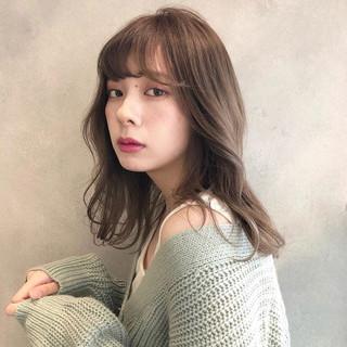 フェミニン オルチャン 春 モテ髪 ヘアスタイルや髪型の写真・画像