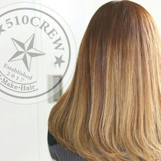 グラデーションカラー アッシュ ヘアアレンジ 外国人風 ヘアスタイルや髪型の写真・画像