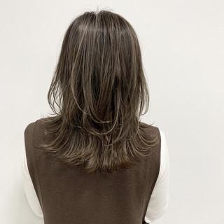 ストリート レイヤーカット 大人ハイライト ハイライト ヘアスタイルや髪型の写真・画像