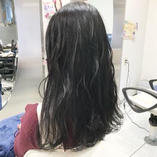 アンニュイ 暗髪 黒髪 ゆるふわ ヘアスタイルや髪型の写真・画像
