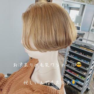 ボブヘアー 透明感 モテボブ ミニボブ ヘアスタイルや髪型の写真・画像