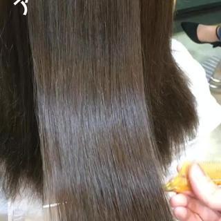 艶髪 ロング フェミニン 透明感 ヘアスタイルや髪型の写真・画像