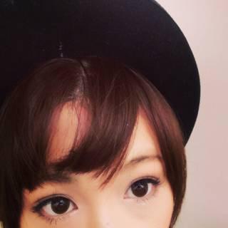 ショート オン眉 ヘアアレンジ 簡単ヘアアレンジ ヘアスタイルや髪型の写真・画像