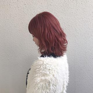 ハイトーン フェミニン ダブルカラー ブリーチ ヘアスタイルや髪型の写真・画像