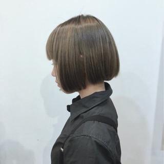 グラデーションカラー ボブ 外国人風 モード ヘアスタイルや髪型の写真・画像