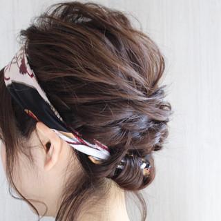 リラックス ボブ ヘアアレンジ 結婚式 ヘアスタイルや髪型の写真・画像