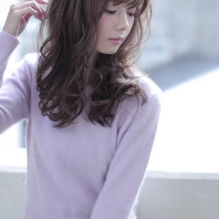 愛され 外国人風 ゆるふわ モテ髪 ヘアスタイルや髪型の写真・画像