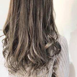 マットグレージュ n. グレージュ ミルクティーグレージュ ヘアスタイルや髪型の写真・画像