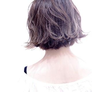 ショート アッシュ モード グラデーションカラー ヘアスタイルや髪型の写真・画像