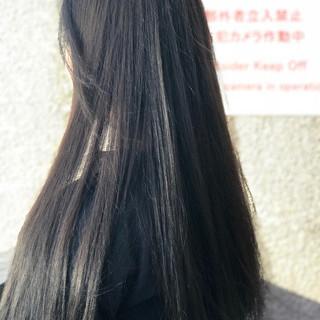 ナチュラル 透明感 ロング 外国人風 ヘアスタイルや髪型の写真・画像