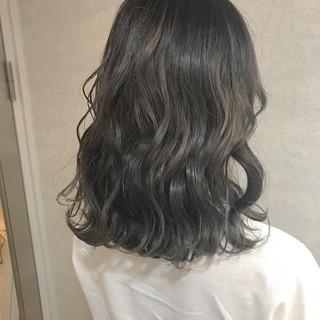 イルミナカラー 透明感 暗髪 ナチュラル ヘアスタイルや髪型の写真・画像