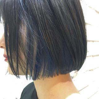 ヘアアレンジ 抜け感 ボブ モード ヘアスタイルや髪型の写真・画像