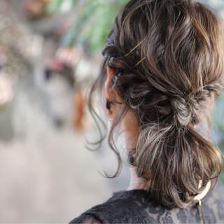 簡単ヘアアレンジ ヘアアレンジ 大人女子 フェミニン ヘアスタイルや髪型の写真・画像