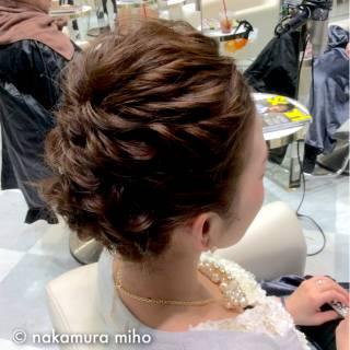 モテ髪 大人かわいい 結婚式 ヘアアレンジ ヘアスタイルや髪型の写真・画像