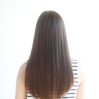 フェミニン 大人かわいい ストレート ナチュラル ヘアスタイルや髪型の写真・画像