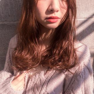かわいい パーマ ナチュラル くせ毛風 ヘアスタイルや髪型の写真・画像