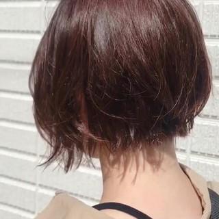 ラベンダーアッシュ ショート ショートヘア ショートボブ ヘアスタイルや髪型の写真・画像