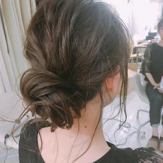 デート ミディアム 成人式 結婚式 ヘアスタイルや髪型の写真・画像