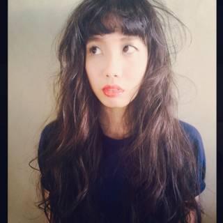 モード くせ毛風 ヘアアレンジ 秋 ヘアスタイルや髪型の写真・画像