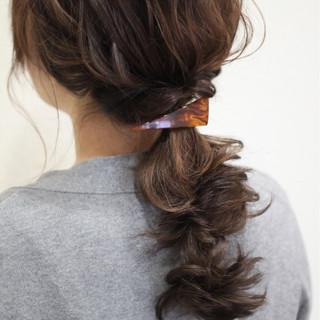 ショート 結婚式 ロング 簡単ヘアアレンジ ヘアスタイルや髪型の写真・画像